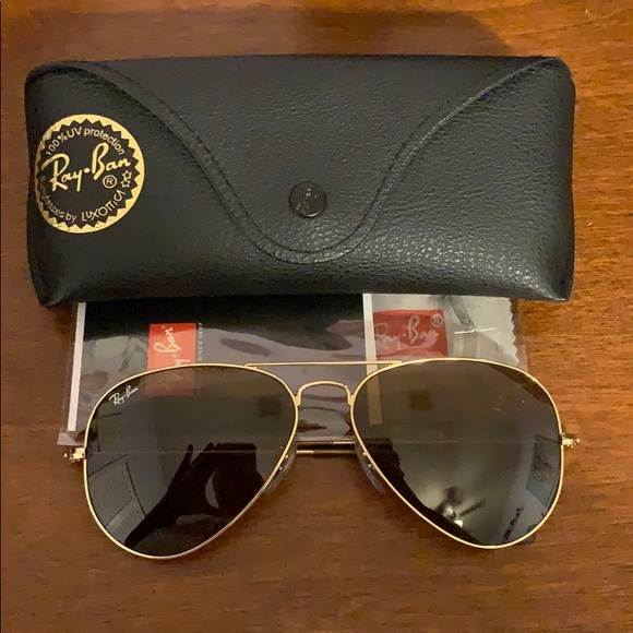 Ray-Ban Accessories - Ray Ban Aviator Sunglasses
